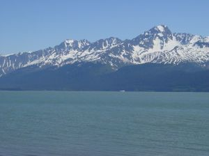 Seward at noon on a clear day.