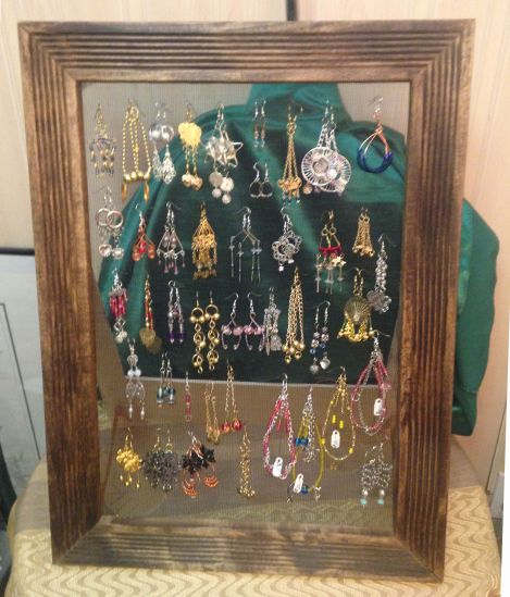 new earring display